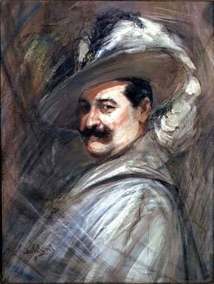 Giovanni Boldini - Costantino in the role of Ernani, c.1910