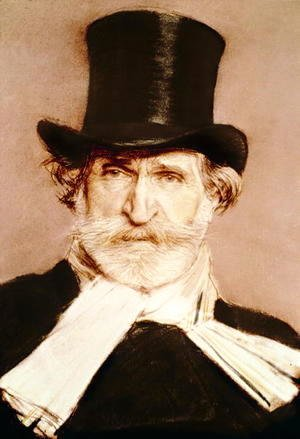 Portrait of Guiseppe Verdi