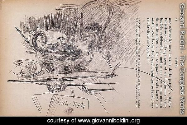 Still Life with a Silver Teapot