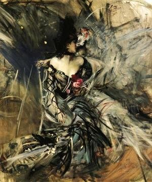 Giovanni Boldini - Spanish Dancer at the Moulin Rouge