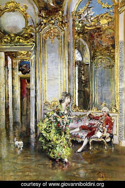 Giovanni Boldini - A Friend of the Marquis