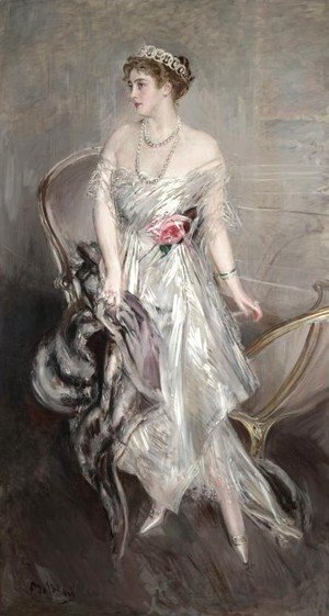Giovanni Boldini - Princess Anastasia of Greece (Mrs Leeds)