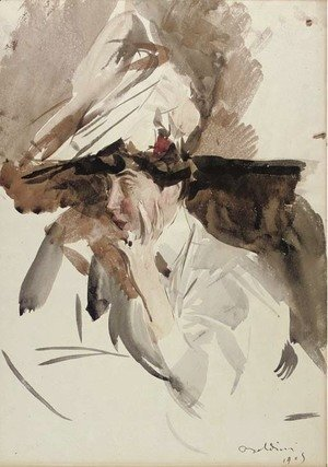 Giovanni Boldini - Consuelo, Duchess of Marlborough