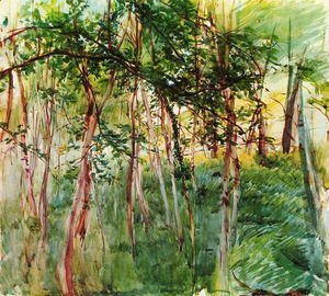 Giovanni Boldini - Trees in the Bois de Boulogne