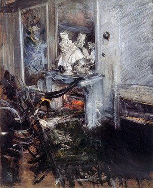 Giovanni Boldini - Room of the Painter