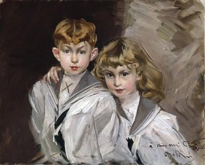 Giovanni Boldini - The two children
