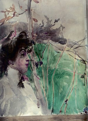Giovanni Boldini - Female Profile