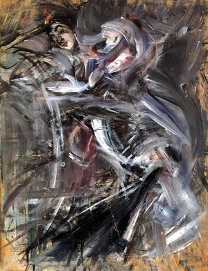 Giovanni Boldini - Female Figure