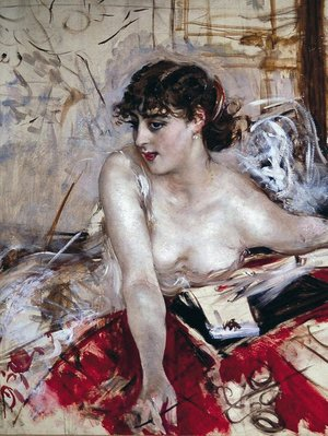 Giovanni Boldini - Morning letter