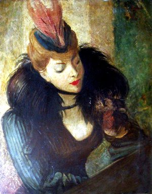 Giovanni Boldini - Red Feather