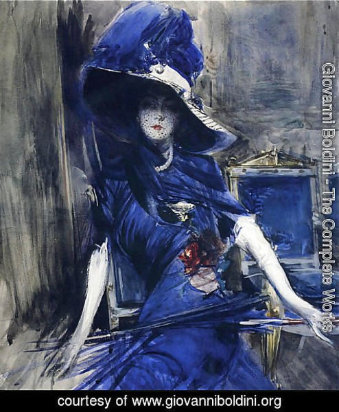 Giovanni Boldini - The Divine in Blue