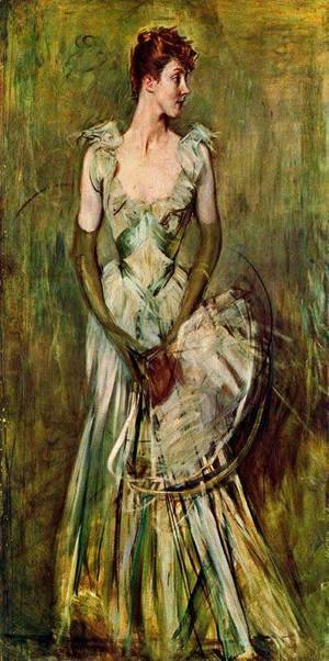 Giovanni Boldini - Portrait of Countess de Leusse