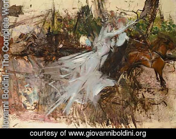 Giovanni Boldini - A Midsummer Night's Dream