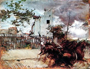 Giovanni Boldini - Outskirts of Paris