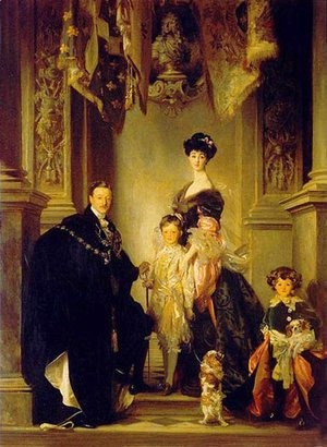 Giovanni Boldini - Duke Marlborough Singer Sargent and Family