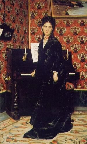 Giovanni Boldini - Portrait of Mary Donegan