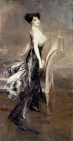 Giovanni Boldini - Portrait of a Lady 3