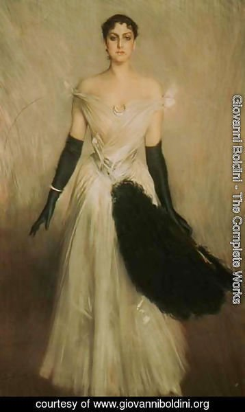 Giovanni Boldini - Portrait of a Lady 4