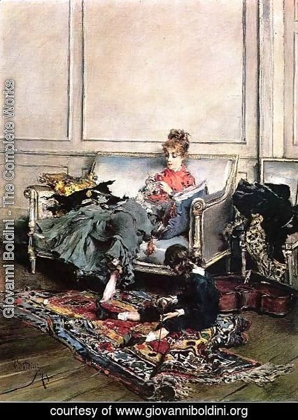 Giovanni Boldini - Peaceful Days
