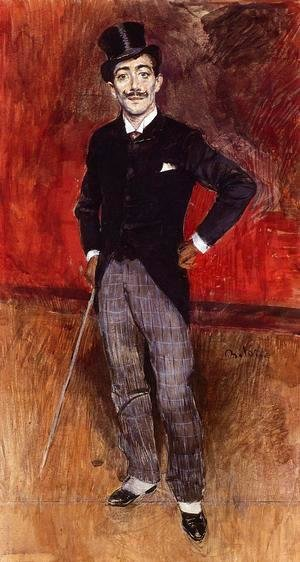 Giovanni Boldini - Portrait Of The Comte De Rasty