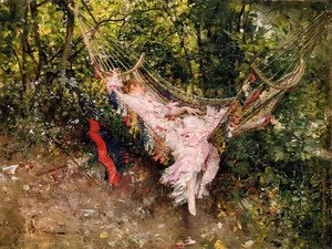 Giovanni Boldini - The Hammock
