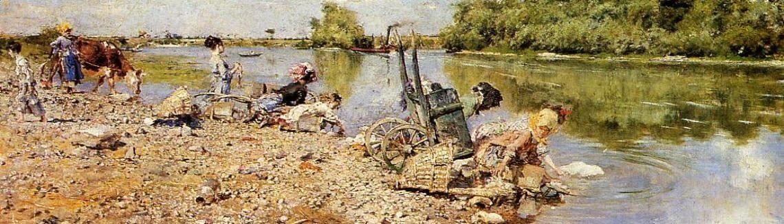 Giovanni Boldini - The Laundry