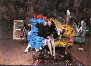 Giovanni Boldini - The Model And The Mannequin