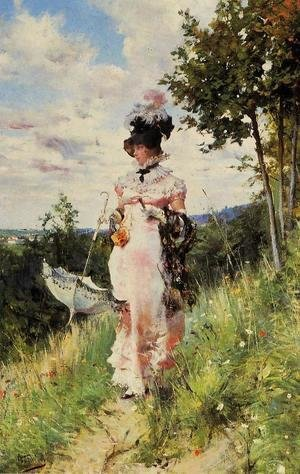 Giovanni Boldini - The Summer Stroll